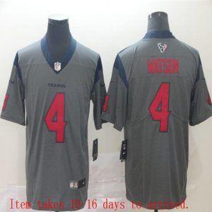 Texans #4 Deshaun Watson Jersey Inverted